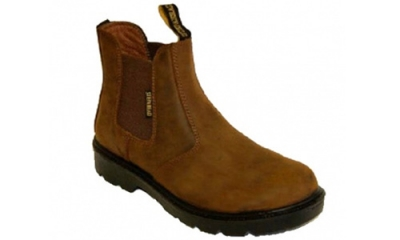 Brown Safety Boot (Chesterfield)