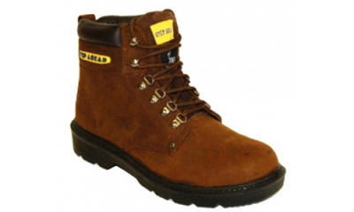 Brown Leather Safety Boot (Lowestoft)