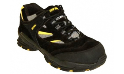 Black Safety Trainers (Bridgend)