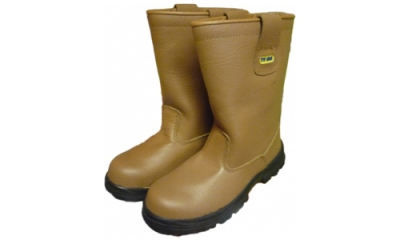 Tan Safety Rigger Boots (Nottingham)