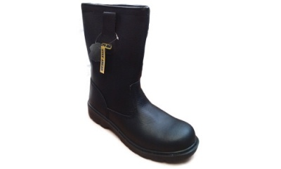 Black Safety Rigger Boots (Warwick)