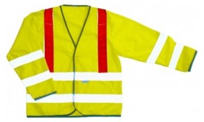 Hi Vis Long Sleeve Vest (Grantham)
